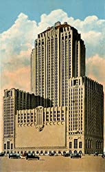 20 Wacker Drive Building, Chicago, 1933 - Fine-Art-Quality Photographic Print - 8x10-inch Enlargement from a Classic Vintage Postcard