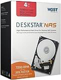 HGST Deskstar NAS 3.5-Inch 4TB 7200RPM SATA III 64MB Cache Internal Hard Drive Kit (0S03664)