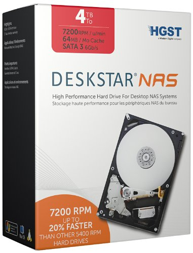HGST Deskstar NAS 4TB Internal Hard Disk