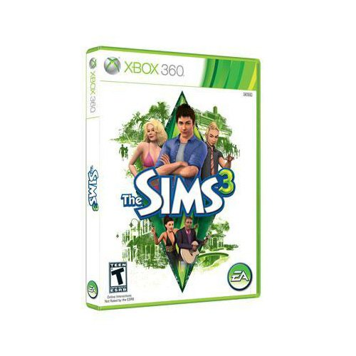 New Electronic Arts The Sims 3 Simulation Game Complete Product Standard 1 User Retail Xbox 360
