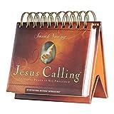 DaySpring Sarah Young's Jesus Calling, DayBrightener Perpetual Flip Calendar, 366 Days of Scripture (75621)