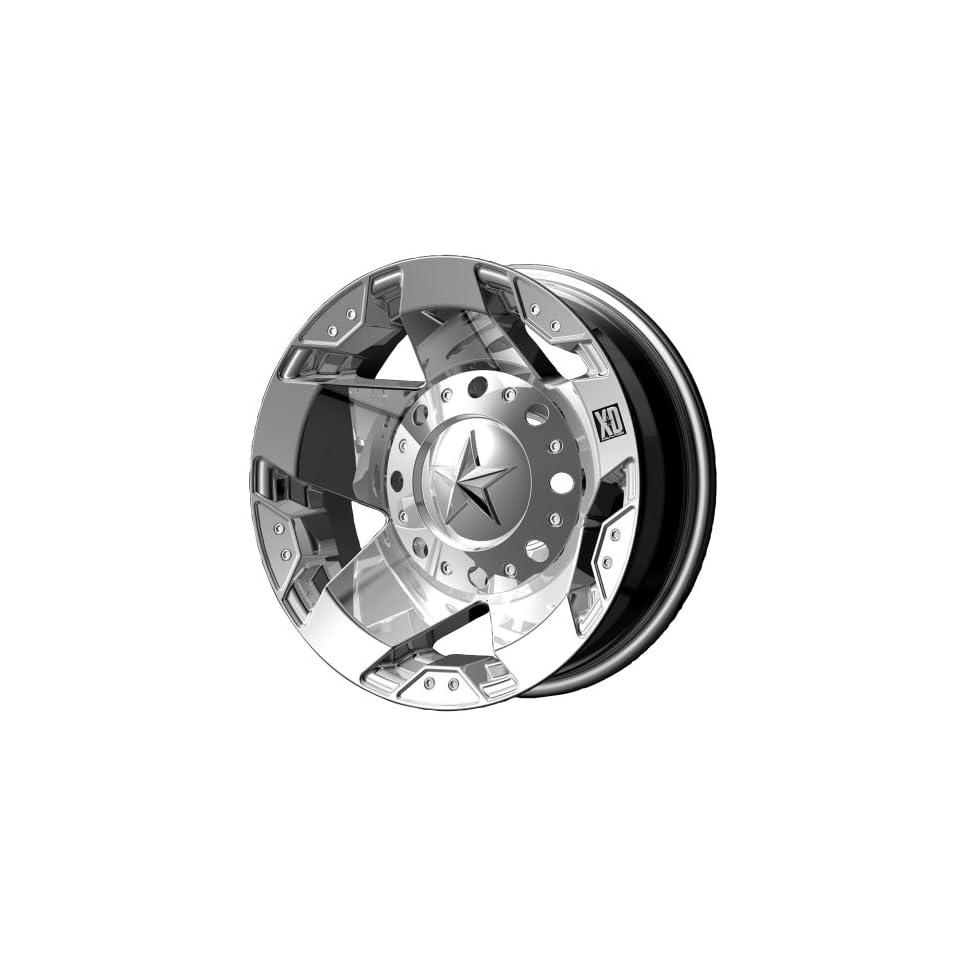 XD Series Rockstar Dually XD775 Chrome Rear Wheel (17x6/8x200mm)