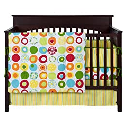 Product Image Sumersault Geo Brights 10 Piece Crib Set - Multicolor