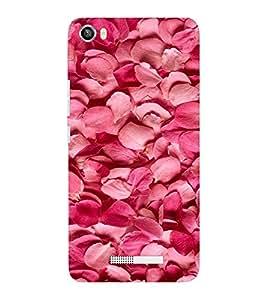 EPICCASE Rose petals bed Mobile Back Case Cover For Lava Iris X8 (Designer Case)