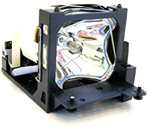 Replacement Lamp with Housing for HITACHI CP-HX6000 with Ushio Bulb Inside