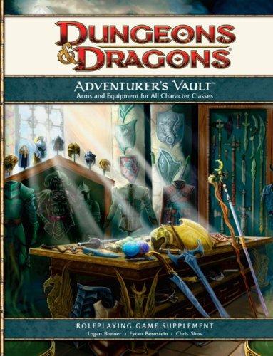 Adventurer's Vault: A 4th Edition D&D Supplement