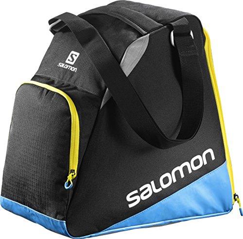 Salomon, Porta-attrezzature da viaggio (33 litri), 39 x 23 x 38 cm, EXTEND GEARBAG, Nero/Blu, L38280500