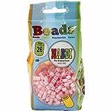 Perles à repasser, dim. 5x5 mm, rose nacrées, moyennes, 1100 pièces