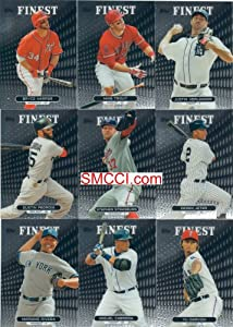 2013 Topps Finest MLB Baseball Series Complete Mint Hand Collated 100 Card Set; It... by Finest