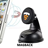 #5: Tech Sense Lab® MagBack Car Mobile Holder ✔ Universal Magnetic Mobile Mount for Mobiles, Smartphones and Mini Tablets, - 100% Satisfaction Guaranteed ✔
