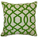 The Pillow Collection Maeret Geometric Keylime Pillow, 20