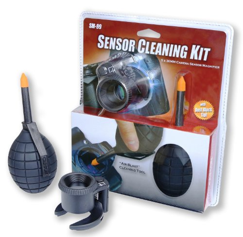 Carson Camera Sensor Cleaning Kit Includes The Sensormag And Dustblaster (Sm-99)