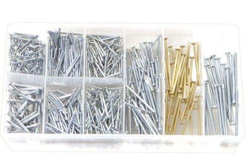 Rolson Tools 61293 - Assortimento di 550 chiodi