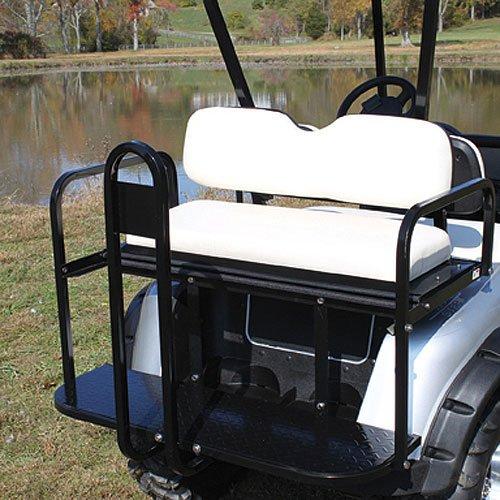 Flip Flop Seat, Stonebeige, Ns, Ez-Go Golf Cart-Go Golf Cart Rxv