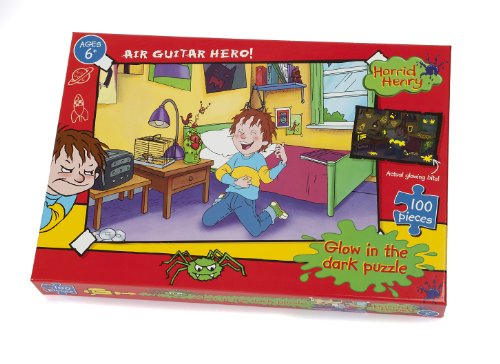 Horrid Henry Air Guitar Hero! Glow in the Dark Puzzle (100 Pezzi)