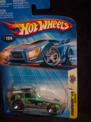 2005 Enforcer Hot Wheels Collectible - Scrapheads Series - 156
