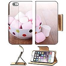 buy Msd Premium Apple Iphone 6 Plus Iphone 6S Plus Flip Pu Leather Wallet Case Marshmallows Image Id 23730625