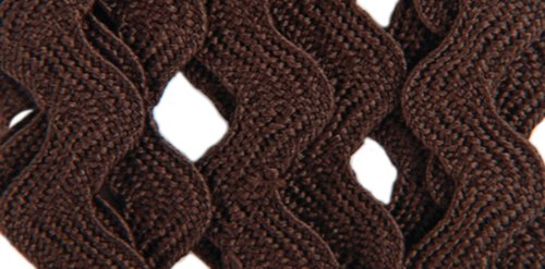 Why Choose The Wrights 117-401-092 Polyester Rick Rack Trim, Seal Brown, Medium, 2.5-Yard