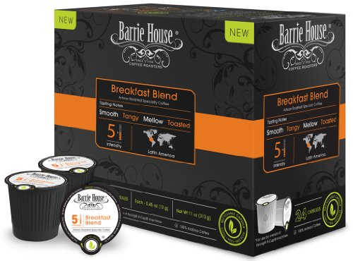 Barrie House Breakfast Blend Single Cup Capsule (48 capsules)