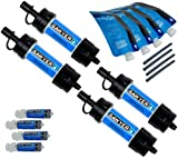 Sawyer Products SP123 Mini Water Filtration System (4-Pack)