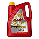 Schaeffer Manufacturing Co. 0700-006S Supreme 7000 Synthetic Plus Engine Oil 15W-40, 1 gallon