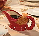Red Gravy Boat - Serveware