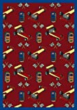 Joy Carpets - Pit Stop - Red 3'10