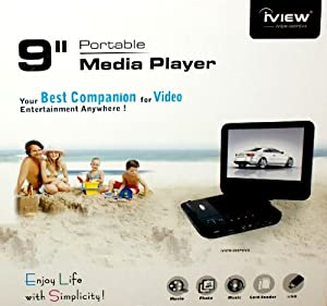 iView 980PDVX High Quality Portable 9-Inch DVD Player
