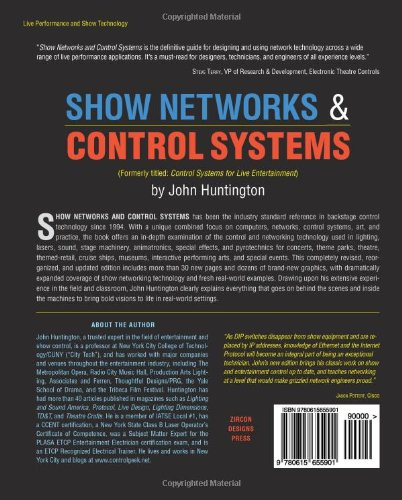 Show Networks and Control Systems: Formerly