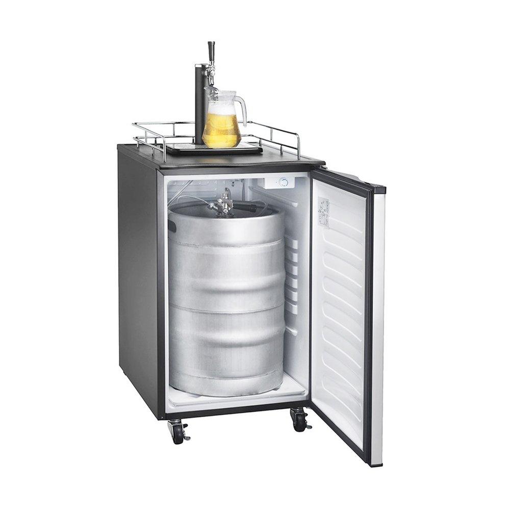 Man Cave Bar Fridge : Kegerator freestanding full keg beer fridge dispenser lcd