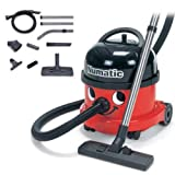 Numatic NRV200-22 Red Commercial Bagged Cylinder Vacuum Cleaner, Redby Numatic