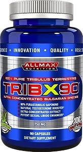 AllMax Nutrition TribX 90 - 90 Capsules