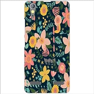 Lenovo A6000 Back Cover - Flowers Designer Cases