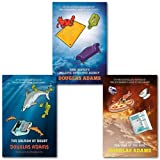 Douglas Adams Douglas Adams Dirk Gently 3 Books Collection Set, (Dirk Gently's Holistic Detective Agency, The Long Dark Tea-Time of the Soul & The Salmon of Doubt: Hitchhiking the Galaxy One Last Time)