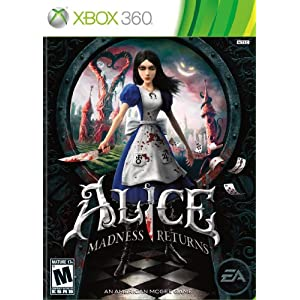 Alice: Madness Returns Video Game for Xbox 360