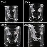 Cool Skull Head Shot Glass Fun Creative Designer Party Wine Cup (250Ml)