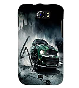 PrintDhaba Car D-2139 Back Case Cover for MICROMAX A110 CANVAS 2 (Multi-Coloured)