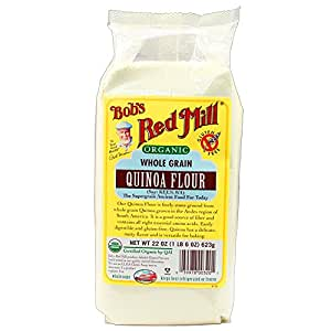 Bob's Red Mill Organic Quinoa Flour, 22-ounce (Pack of 4)