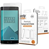 Orzly® - Premium Vetro Temperato Pellicola Protettiva per OnePlus 2 (ONE PLUS TWO SmartPhone - 2015 Modelo) - 0,24mm Sottile Robusta Protezione dello Schermo Ultra Resistente 8-9H - Trasparente