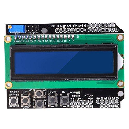 1602 LCD Keypad Shield for Arduino Duemilanove