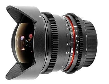 Samyang 8 MM VDSLR T3.8 UMC Fisheye CS II Objectif pour Canon