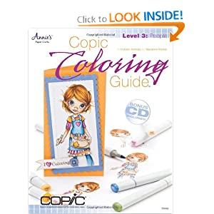 Copic Coloring Guide Level 3: People [Paperback]