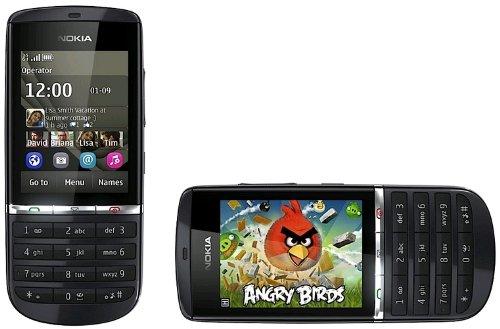 Nokia Asha 300 - Mobiltelefon - GSM / UMTS, A00003465