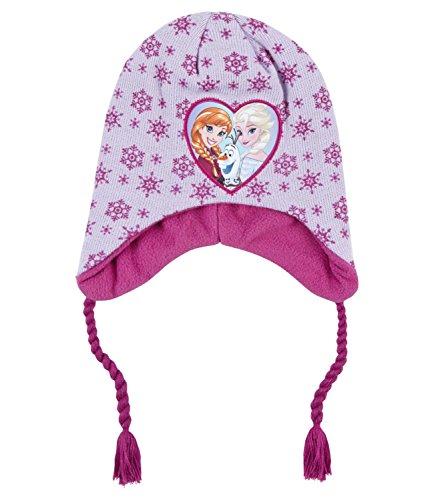 Disney Frozen - Il regno di ghiaccio Ragazze Berretto di lana - malva - 54
