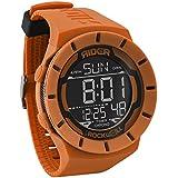 Rockwell Time Coliseum Orange Watch Case Black Dial