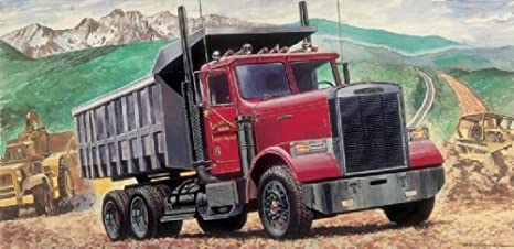 Italeri - I3783 - Maquette - Voiture et Camion - Freightliner Benne - Echelle 1:24