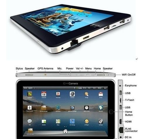 Flytouch(TM) 10.1 VC882 Flytouch/Superpad Google Android 4.0, 16GB HD, 1GB RAM, Cortex A8,WIFI, HDMI, Skype Video Calling &Netflix Movies + External Ketboard