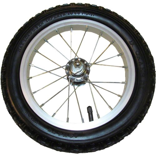 Strider Sports Strider Replacement Wheel, Alloy/Pneumatic