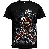 Iron Maiden - Mens Jumbo Somewhere In Time T-shirt 2X-Large Black