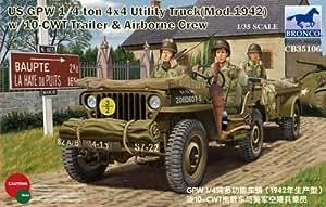 Bronco CB35106 US GPW 1/4ton 4×4 Utility Truck 1/35